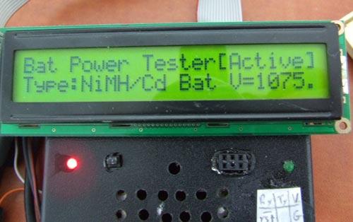 Измеритель ёмкости аккумуляторов