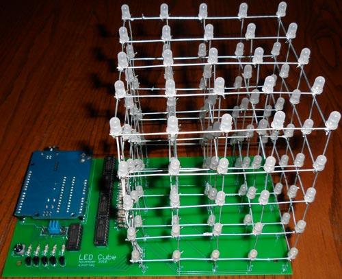 Светодиодной куб схема