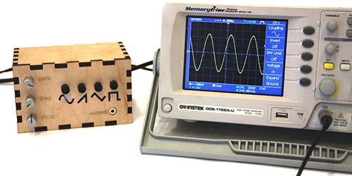 Генератор сигналов на Arduino