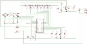 Схема генератора сигналов на Arduino