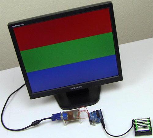 VGA на Arduino