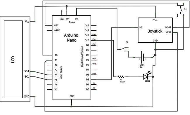 PCF8583 and the arduino to display the time