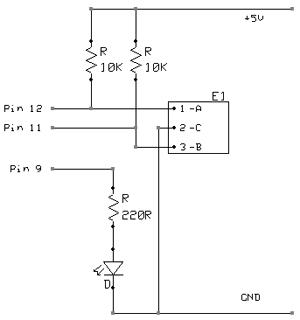 Энкодер на ардуино схема