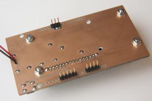 Вид снизу шилда Arduino