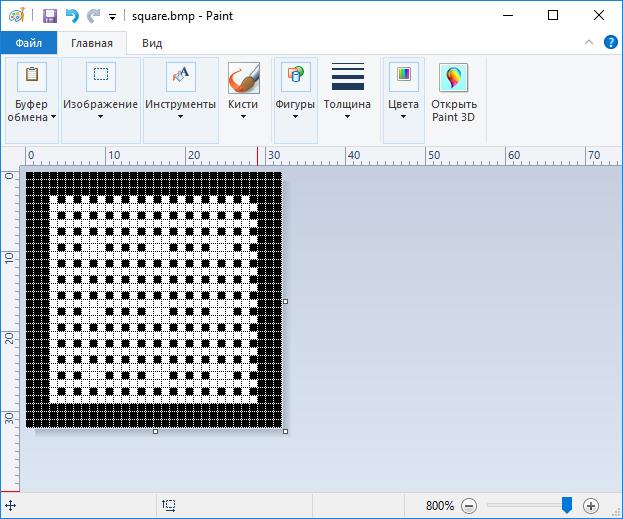 OLED i2c дисплей 128х64 пикселя