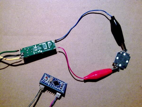 Подключение светодиодного драйвера к отладочной плате