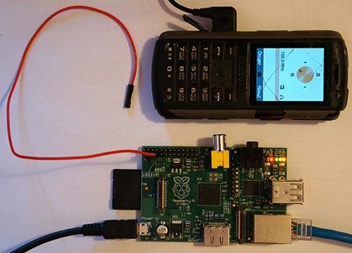 Raspberry и телефон в качестве FM-тюнера