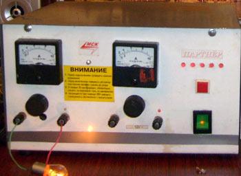 Схема зарядно-разрядного устройства
