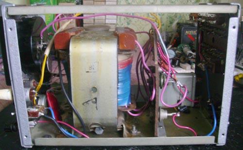 тиристорное зарядное устройство автомата - Схемы.