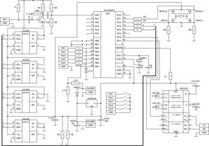 Схема автомобильной сирены