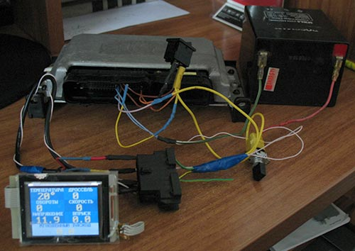 Бортовой компьютер для компьютера своими руками