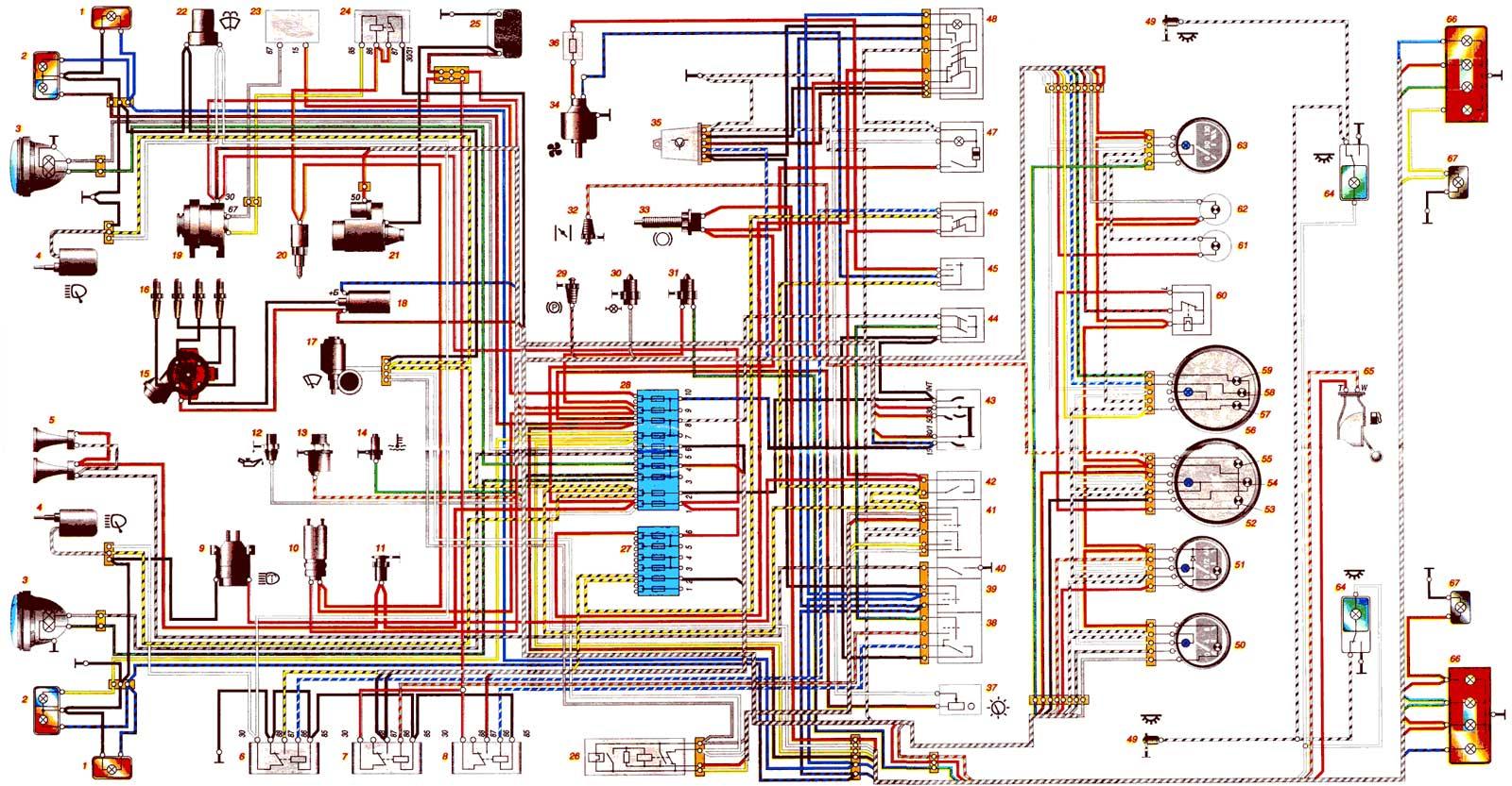 эл,схема ваз 2110 инжектор
