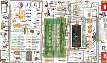 Схема электропроводки ВАЗ-2108, ВАЗ-2109