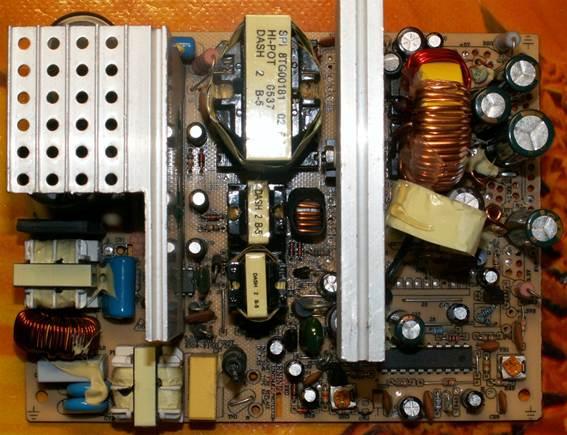 Импульсный блок питания на базе БП ПК.  Зарядные и пуско-зарядные...