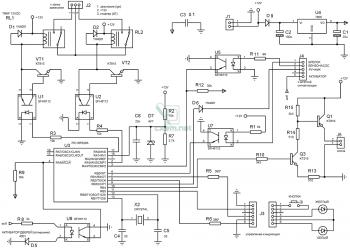 Схема автозапуска бензинового двигателя
