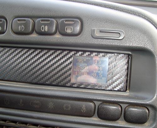 Ббортовой компьютер в ВАЗ 2115