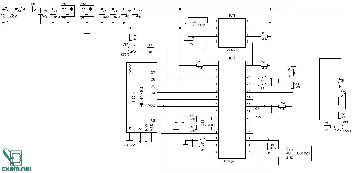 Подстроечный резистор R4