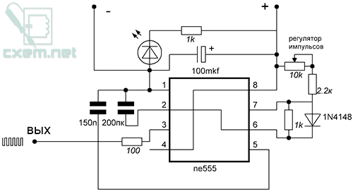 Схема подмотчика спидометра на