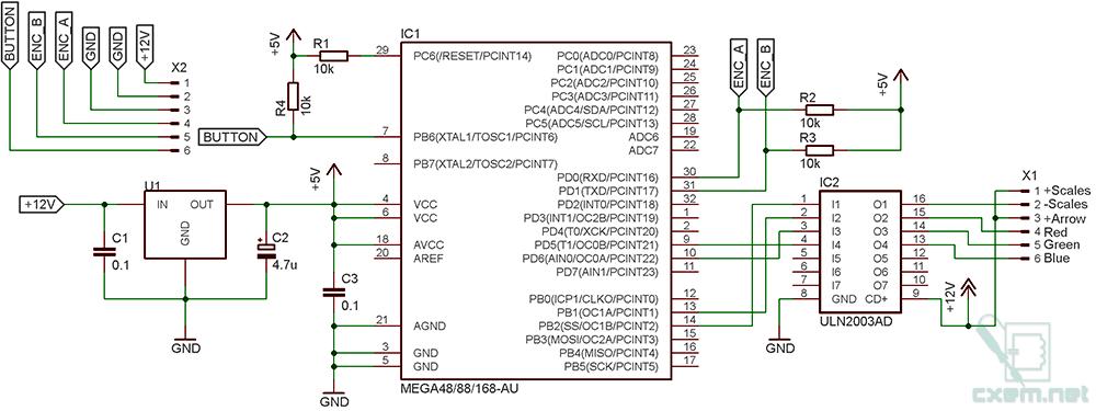 Приборная панель на микроконтроллере своими руками