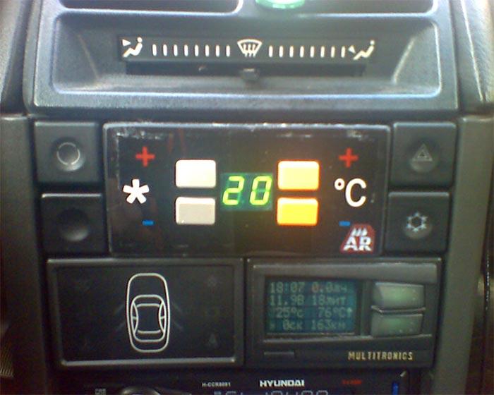 Простой блок управления отопителем ВАЗ-2110