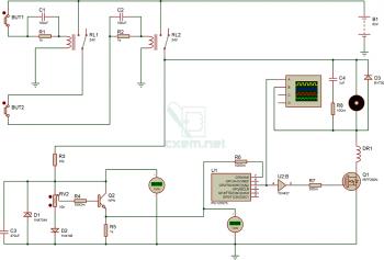 Схема драйвера электромобиля