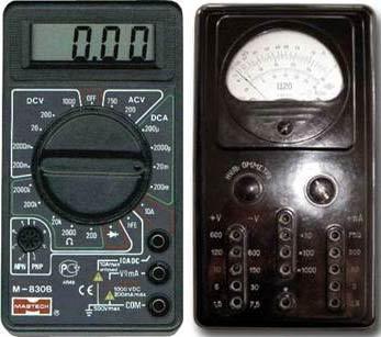 Современный мультиметр и авометр