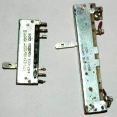 Ползунковые переменные резисторы