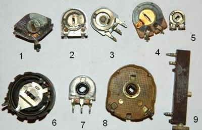 Подстроечные резисторы СССР