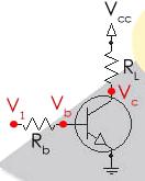 Включение транзистора