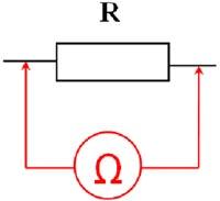 Проверка резистора