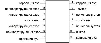Цоколевка К157УД2
