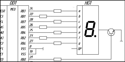 Дешифраторы для вывода на семисегментный индикатор