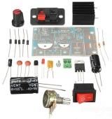Конструктор регулируемого преобразователя напряжения LM317