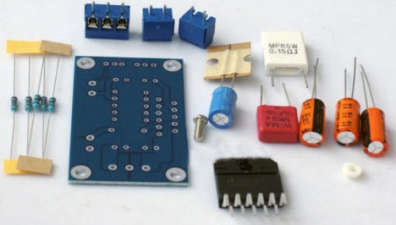 Конструктор УНЧ 60 Вт на LM3886