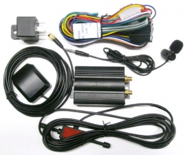 Автомобильный GPS-трекер с GSM/GPRS и дистанционным управлением