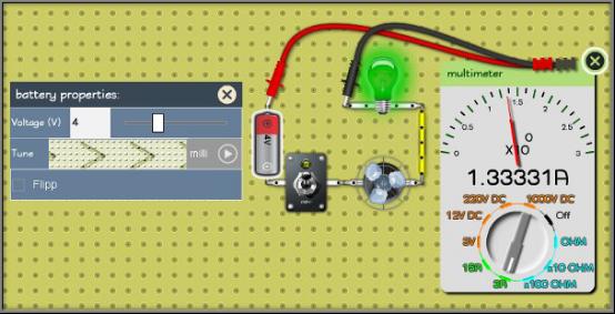 Моделирование электрических схем онлайн