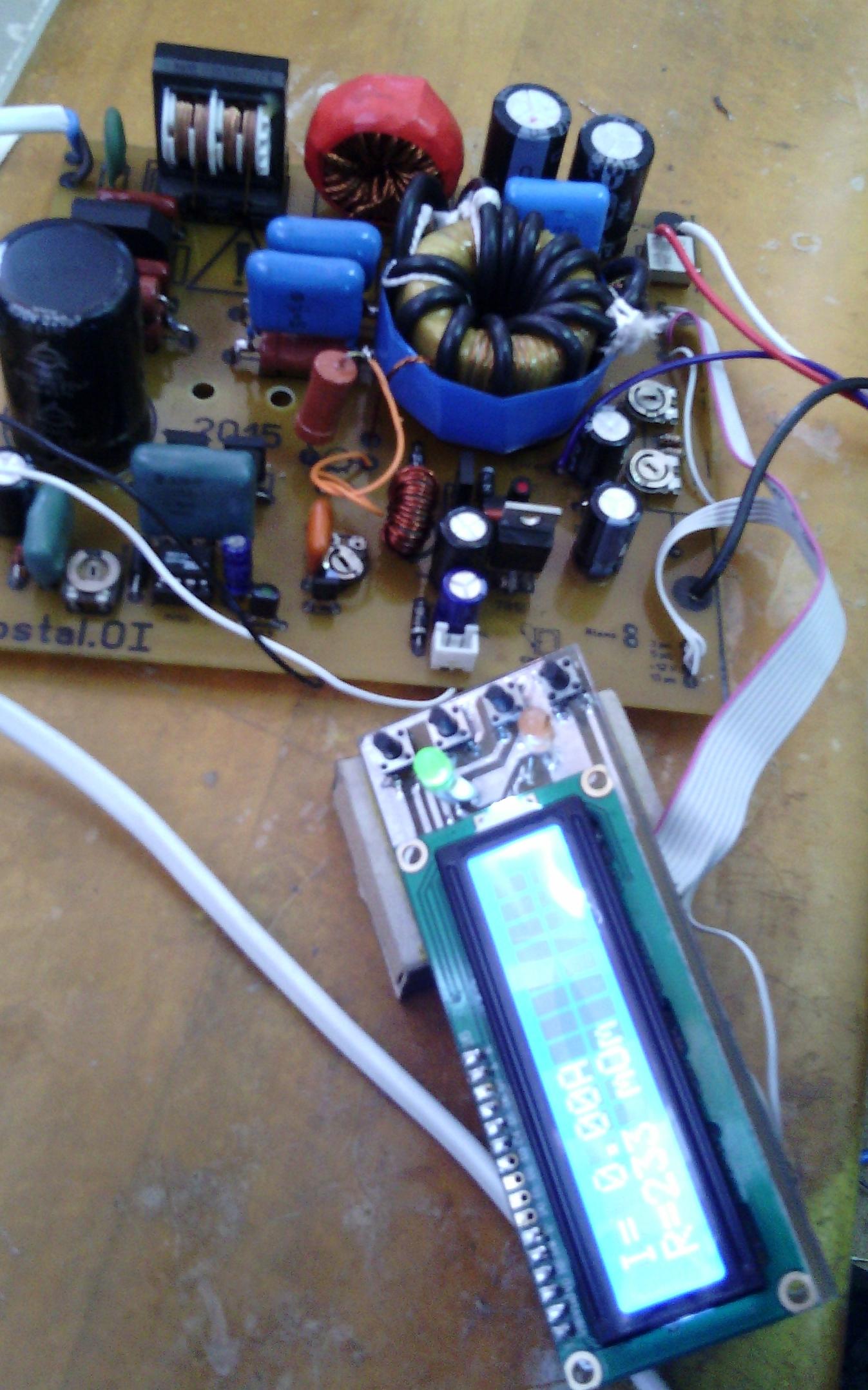 принцыпиалная схема электро удочки.