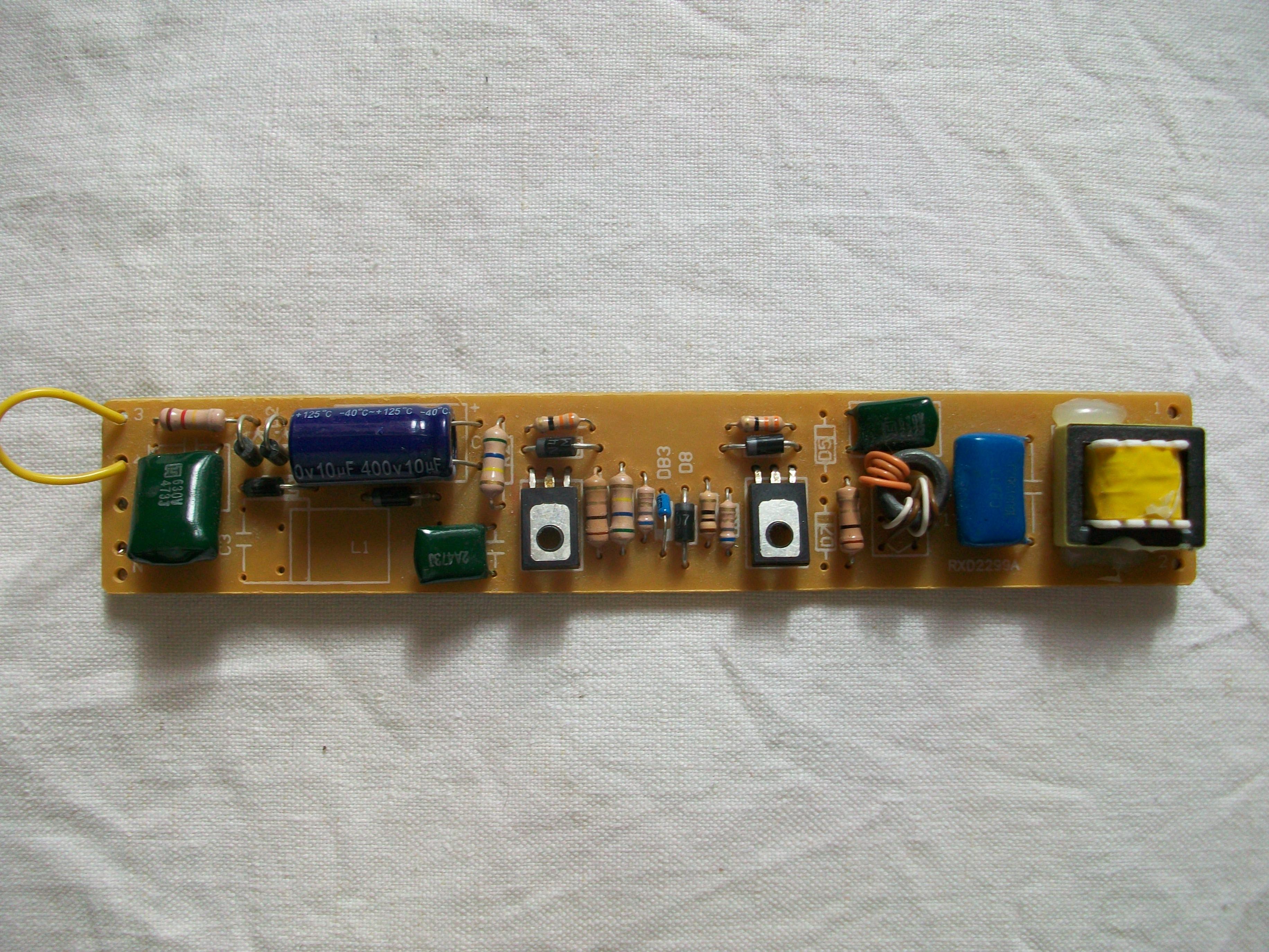 схема регулируемого электронного предохранителя