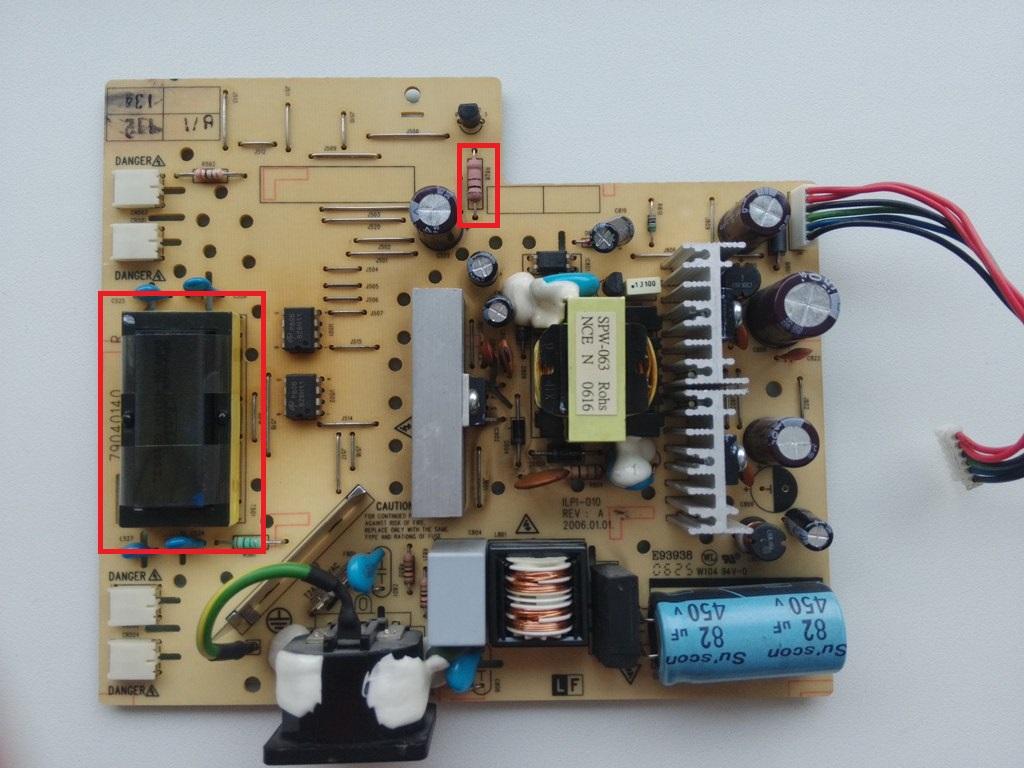 Инвертор e148279 схема