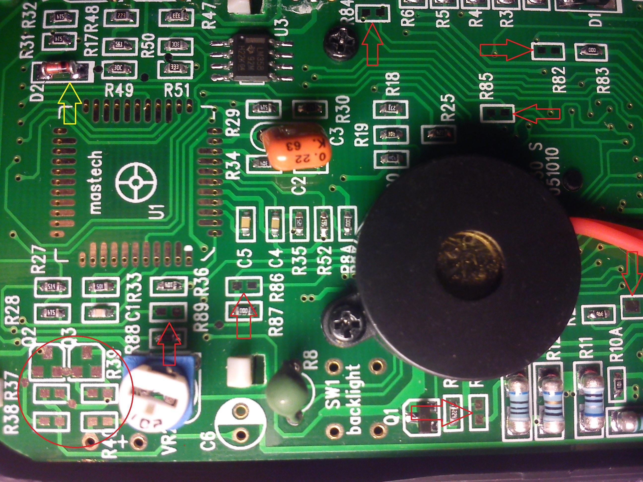 схема подключения микросхемы 7106