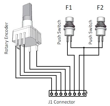 Подключение к J1