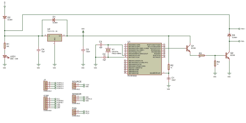 Схема регулятора оборотов вентилятора фото 875