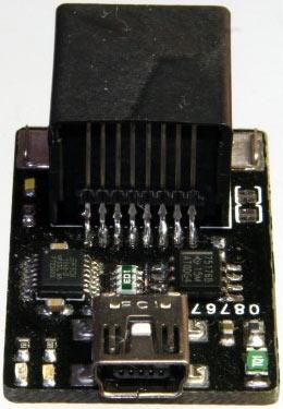 Фото адаптера USB RS-485