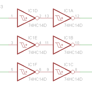 74hc14d схема