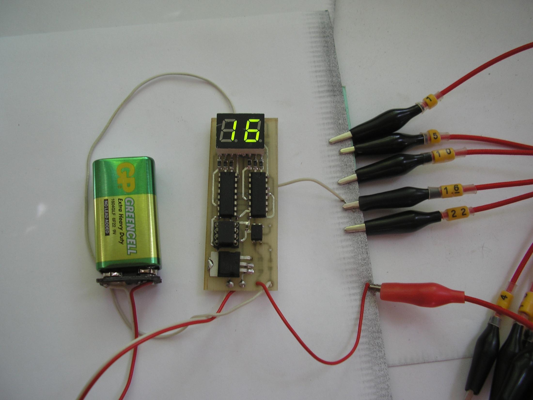 Схема прозвонки провода