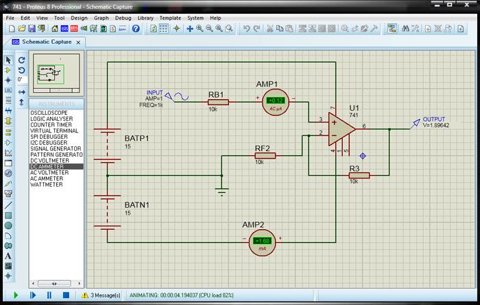 Подключение двух амперметров к схеме