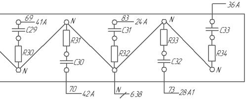 Обозначение элементов на монтажных схемах