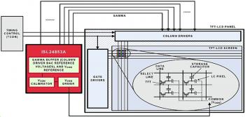 Типовая схема включения ISL24853A