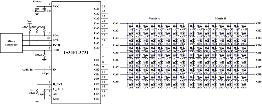 Типовая схема подключения