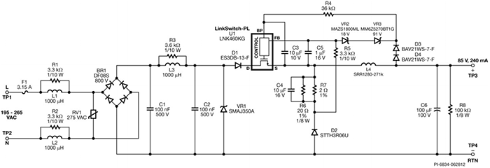 Схема DER-337